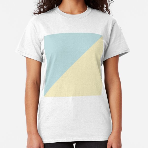 Simple pastel triangles Classic T-Shirt