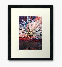 Crimson Lily Framed Print