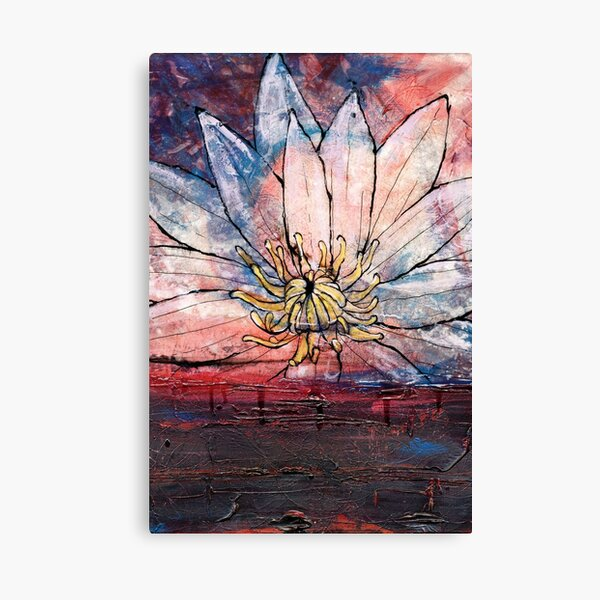 Crimson Lily Canvas Print