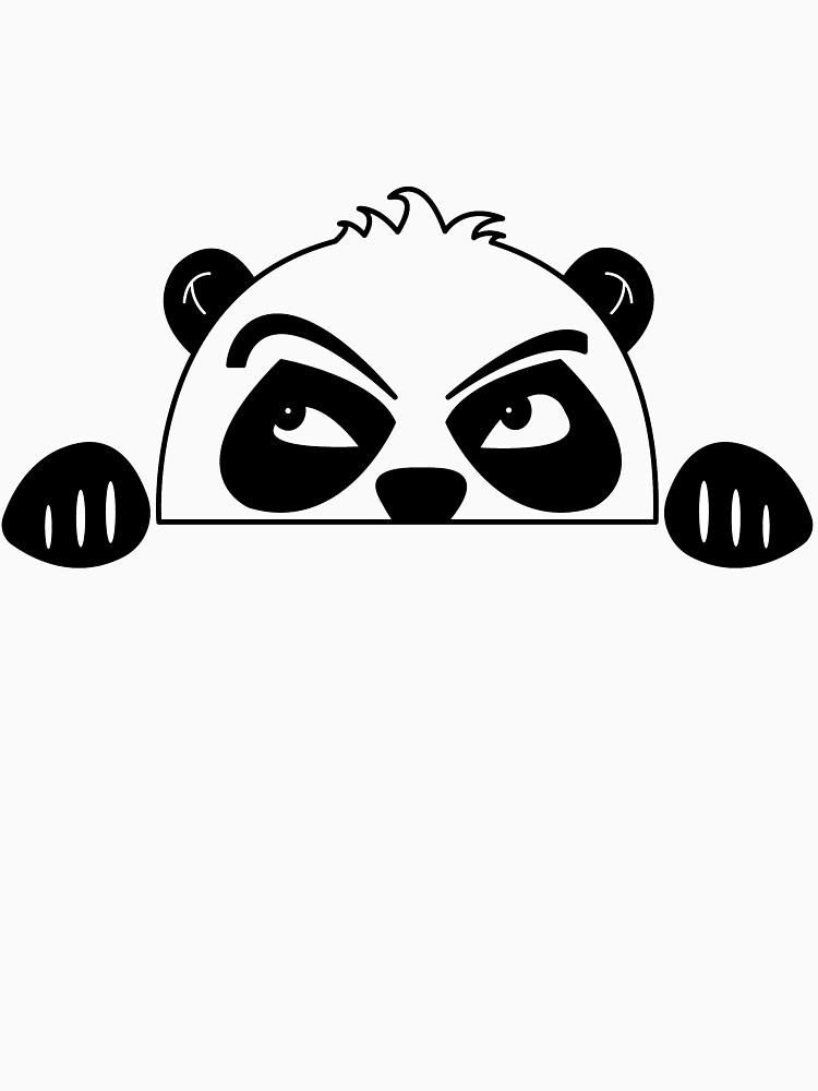 Sweet baby panda bear pregnancy gift by Donsanoj