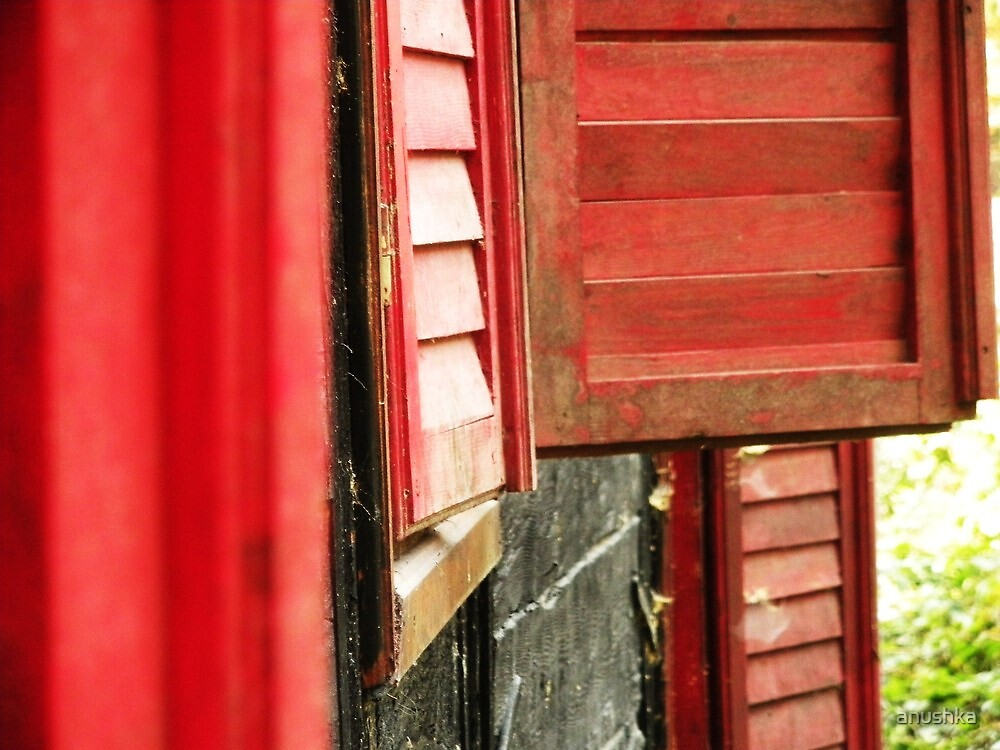 little red ..hidding rooms by anushka