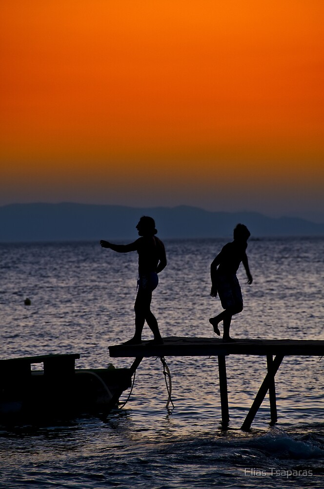 Greek Landscape 009 by Elias Tsaparas