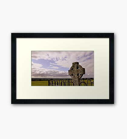Hill of Tara. Framed Print