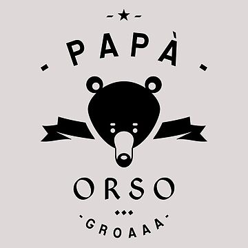 Papa Orso by lepetitcalamar