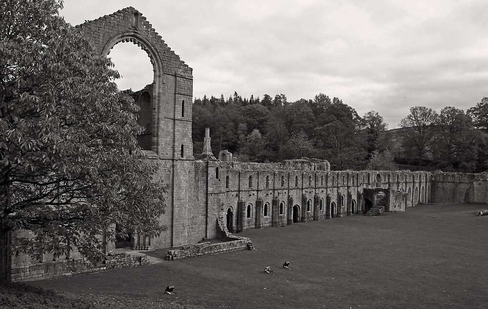 Fountains Abbey by jdphotos
