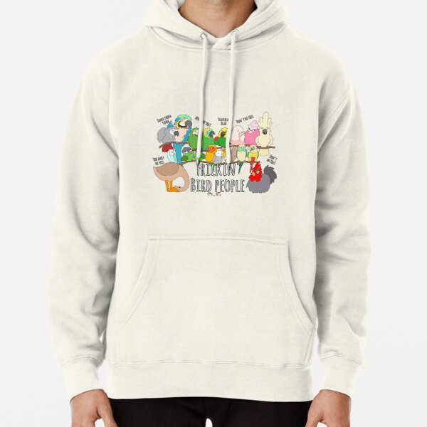 HWS SASSY COLLECTION - THE PARROT PANDEMONIUM  Pullover Hoodie