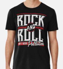 Rock'n'Roll ist keine Lärmbelästigung (weiß und rot) Premium T-Shirt