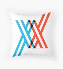 Franxx Throw Pillow