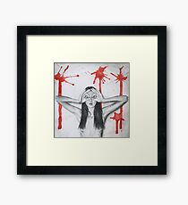 Period Goggles Framed Print