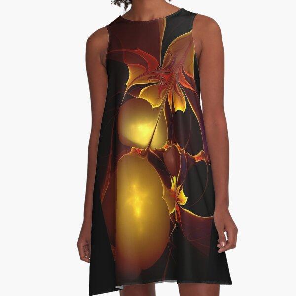 Exotique A-Line Dress