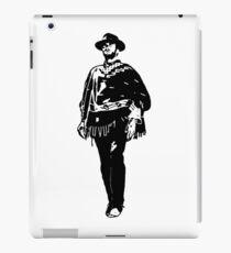 PORTRAIT VON CLINT EIN BEKANNTER FILMSTERN-COWBOY iPad-Hülle & Klebefolie