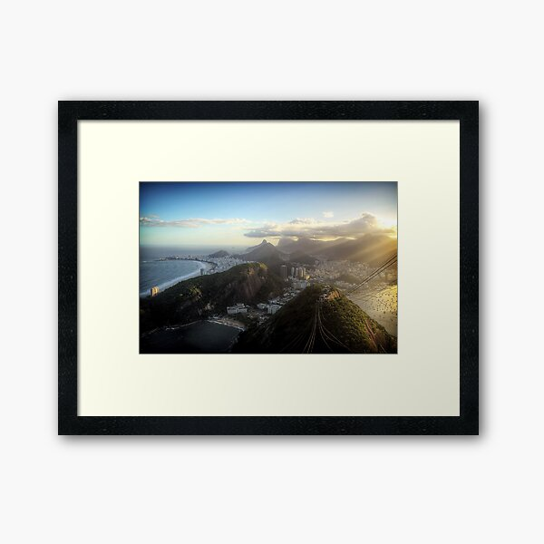 View from the Sugar Loaf #2 Framed Art Print