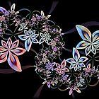 Floral Swirl... by Roz Rayner-Rix