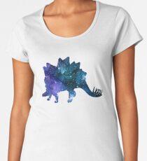 Stegosaurus Dinosaur Women's Premium T-Shirt