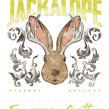 J is for Jackalope by frittata