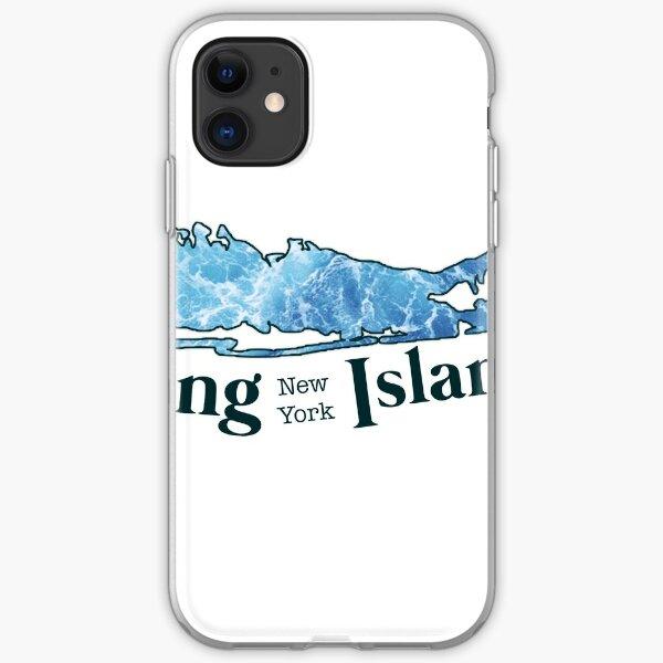 Long Island Beach Sticker iPhone Soft Case