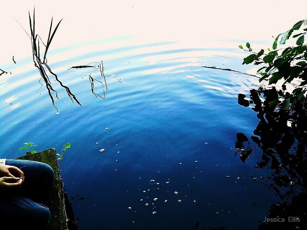 rippled water. by Jessica  Ellis
