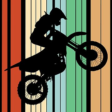 Dirt Biking Motocross Supercross Design - Id Rather Be  by kudostees