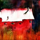 Red Barn by Sally Griffin