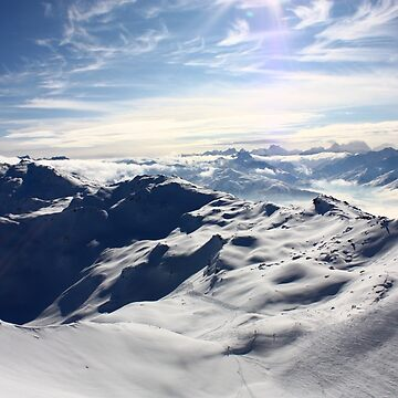 Snowy Mountain by Filifjonka