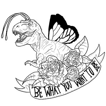Dino Butterfly - Be what you want to be by YepVans