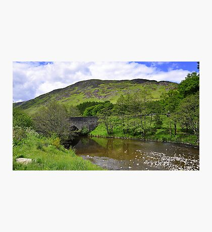 Low Highlands of Scotland. Photographic Print
