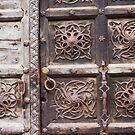 Medieval Door by Christine  Wilson