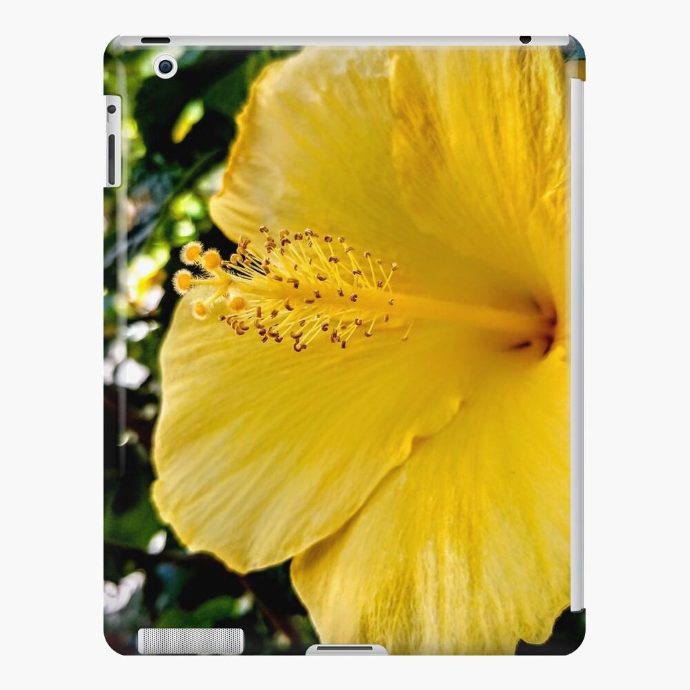 Yellow Flower iPad Case & Skin