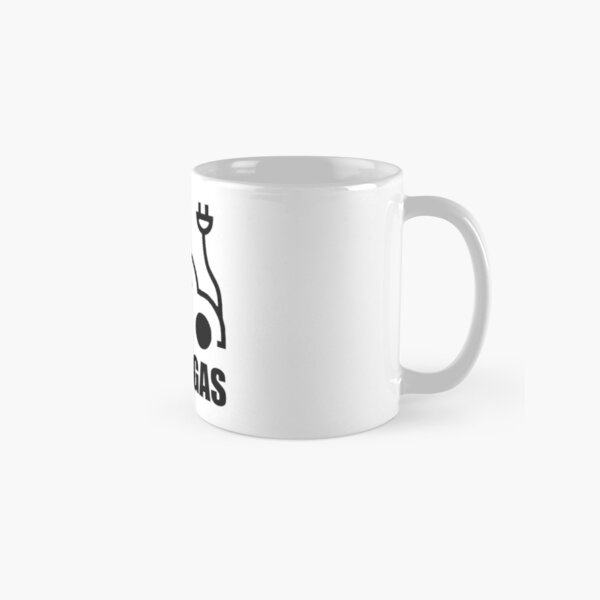 Electric Vehicle Driver Pass On Gas Funny Classic Mug