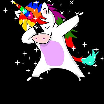 Dab Dabbing unicorn by Daniel0603