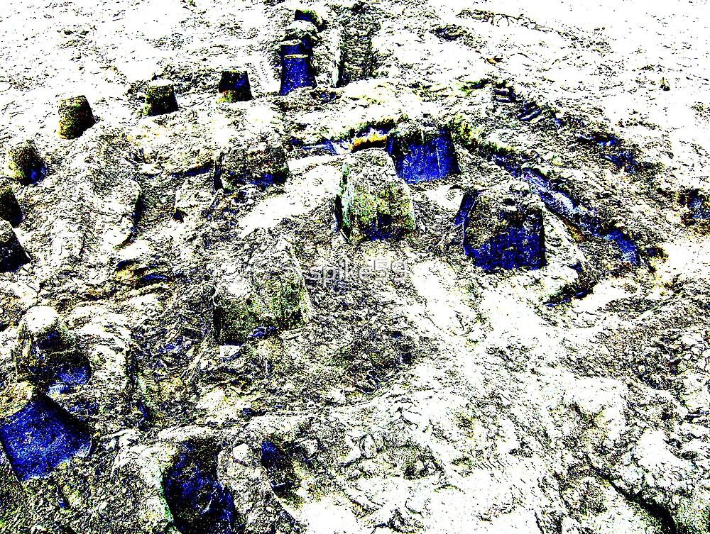 Blue Castles by spike59