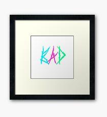 Xxxtentacion -Bad Vibes Forever Logo Framed Print