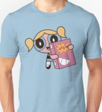 Powerpuff Girls Bubbles with WOW Cereal Unisex T-Shirt
