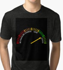 battery testing instrument Tri-blend T-Shirt