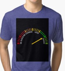 battery testing instrument Tri-blend T-Shirt