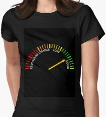 battery testing instrument Women's Fitted T-Shirt