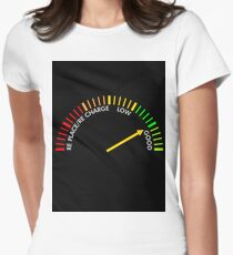 battery testing instrument Womens Fitted T-Shirt