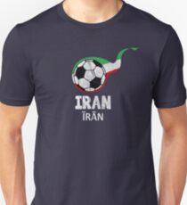 Iran National Football Team Soccer World Championship Cup T-Shirt  Unisex T-Shirt