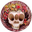 Autumn skull by Karolina Koblenova