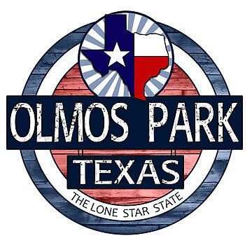 Olmos Park Texas rustic wood circle by artisticattitud
