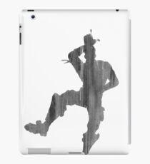 Nimm das L - Schwarz und Weiß iPad-Hülle & Klebefolie