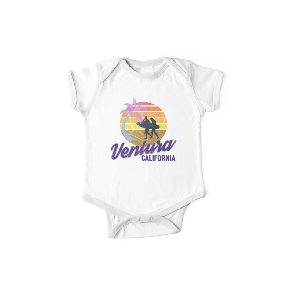 49c827cd25 Ventura Beach California USA America Retro Classic Surf Hippy Gift T-Shirt