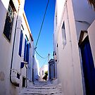 Greek City Scene 002 by Elias Tsaparas