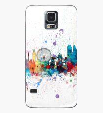 London England Skyline Hülle & Klebefolie für Samsung Galaxy