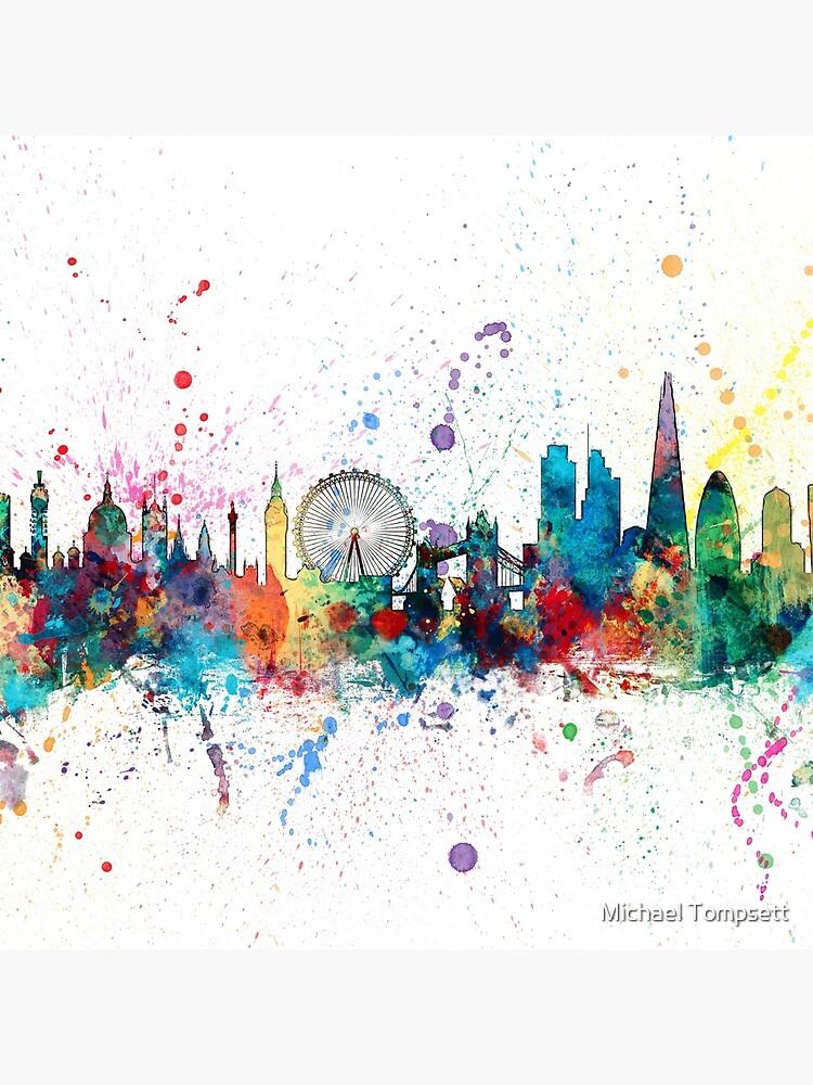 London England Skyline von ArtPrints