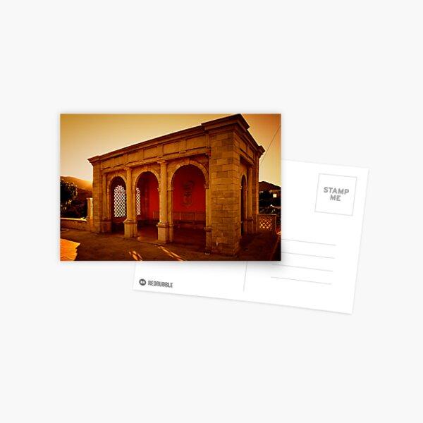 Greek City Scene 003 Postcard