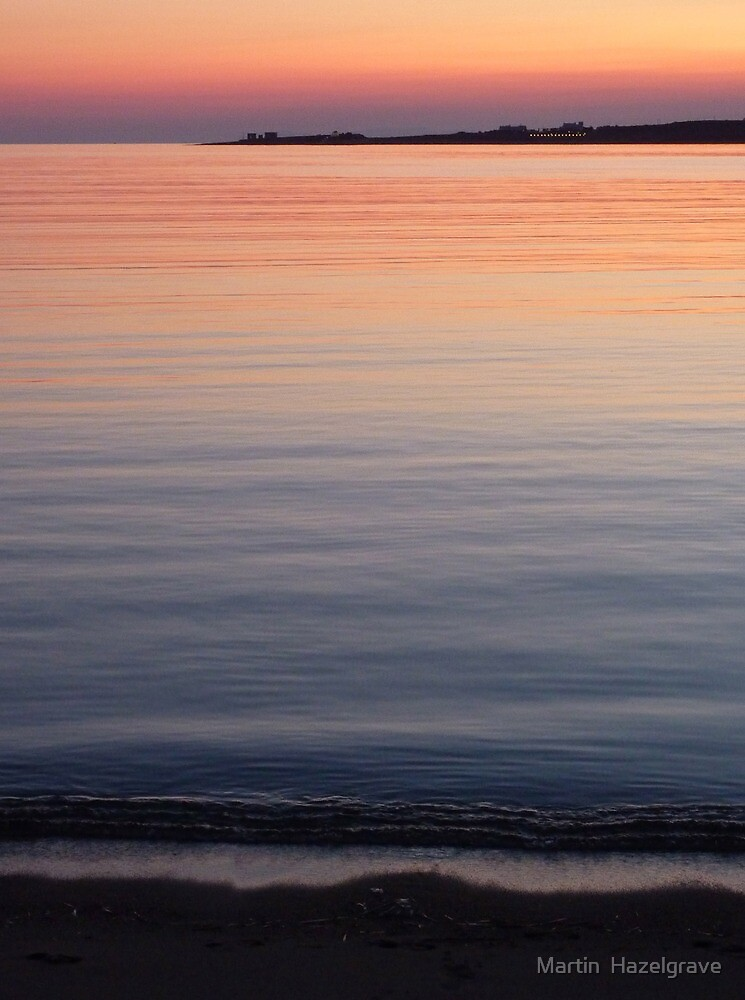 Evening reflections by Martin  Hazelgrave