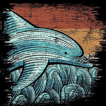Dolphins sea creatures by GeschenkIdee