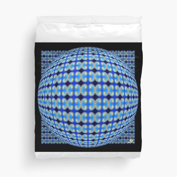Ocean Sphere Duvet Cover