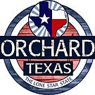 Orchard Texas rustic wood circle by artisticattitud